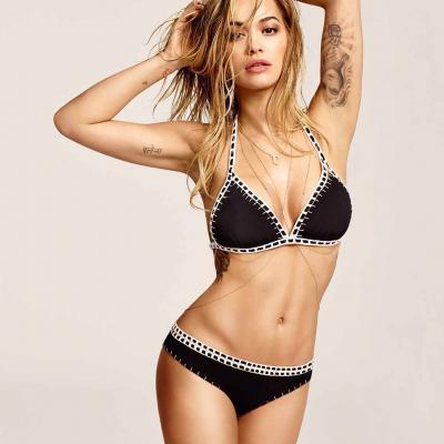 11MAYO2016 Rita Ora, imagen de Tezenis para beachwear.