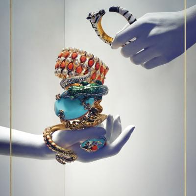 11SEPTIEMBRE2012 Imperturbablemente glamurosa, elegante y divertía, la colección de Anna Dello Russo  para H&M. Foto: H&M.