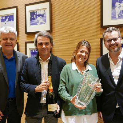 ENERO2018 La ATP premia al Barcelona Open Banc Sabadell por su trato con los tenistas.