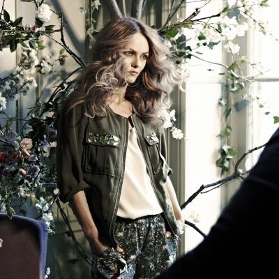 25ENERO2013 Vanessa Paradis es el rostro de la colección Conscious de H&M. Foto: H&M.