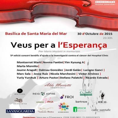OCTUBRE2014 Concierto Voces para la Esperanza. Foto. Archivo.