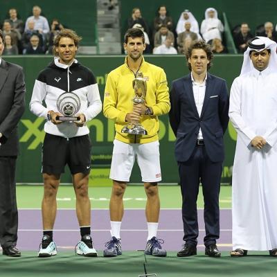 09ENERO2016 Rafa Nadal finalista en Dona. Foto: TenisWeb.