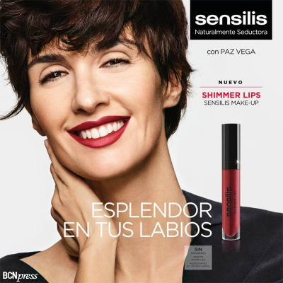 29JUNIO2016 Sensilis lanza Shimmer Lips.