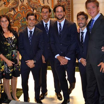 22SEPTIEMBRE2016 España sube al Grupo Mundial de Tenis. Foto: Twitter.