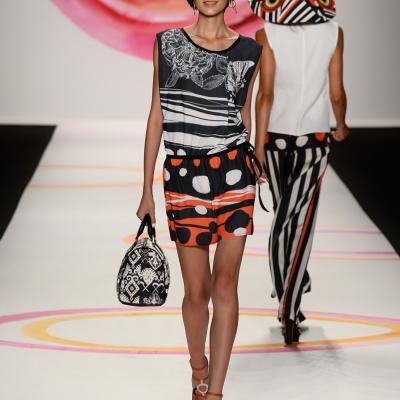 06SEPTIEMBRE2013 Desigual desfiló por primera vez en la Semana de la Moda de Nueva York. Foto: Image. .