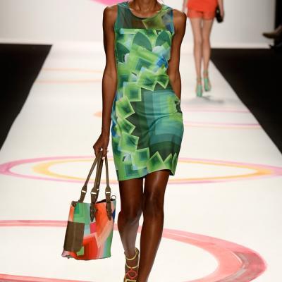 06SEPTIEMBRE2013 Desigual desfiló por primera vez en la Semana de la Moda de Nueva York. Foto: Image.