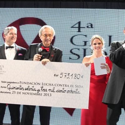 25NOVIEMBRE2013 Cuarto año en Barcelona de la Gala del Sida.