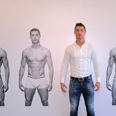 31OCTUBRE2013 Cristiano Ronaldo presenta su línea de ropa interior. Foto: Getty Images for CR7.