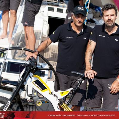 04JULIO2015 Barcelona ORC World Championship.Javier Banderas y Pau Dones.  Foto: María Muiña.