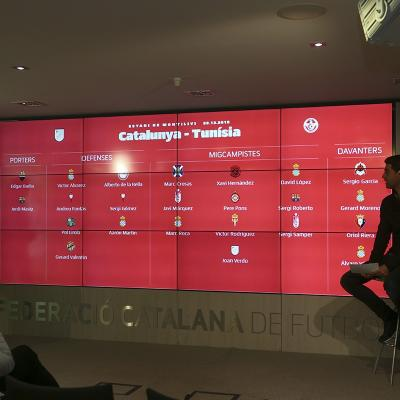 29DICIEMBRE2016 Partido entre Catalunya-Túnez