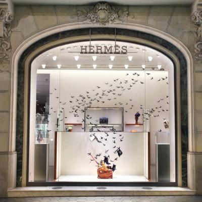 12SEPTIEMBRE2012 Escaparate de Hermès. Foto: Hermès.