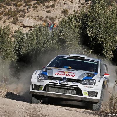 27OCTUBRE2013 Ogier campeón del Rally RACC y del Mundial.  Latvala.