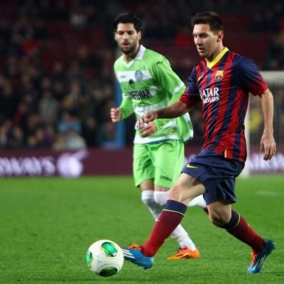 08ENERO2014 Copa del Rey Barcelona4 vs. Getafe 0.Foto: Ricard Rovira.