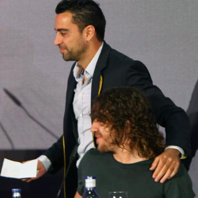15MAYO2014 Despedida de Carles Puyol del FC Barcelona. Foto: Ricard Rovira.