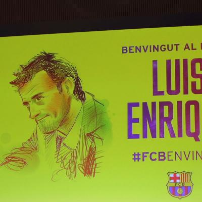22MAYO2014 Primeros fichajes del FC Barcelona Luis Enrique, entrenador. Foto: Ricard Rovira.