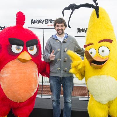 """29ABRIL2016 """"Angry Birds, La Película"""". Foto: Goyo Conde."""