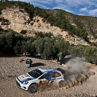 27OCTUBRE2013 Ogier campeón del Rally RACC y del Mundial.  Ogier.