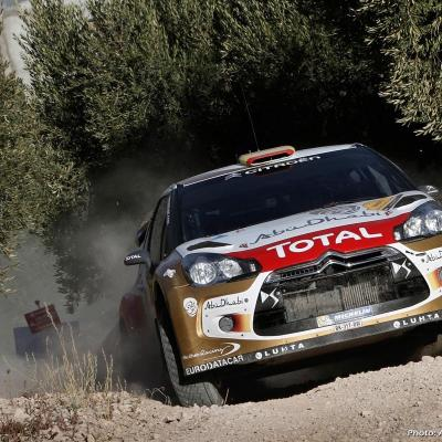 27OCTUBRE2013 Ogier campeón del Rally RACC y del Mundial.  Sordo.