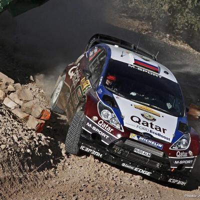 27OCTUBRE2013 Ogier campeón del Rally RACC y del Mundial. Novikov.