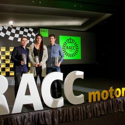 16DICIEMBRE2015 El RACC entrega los premios a sus pilotos más destacados. Foto: Miquel Rovira / RACC.