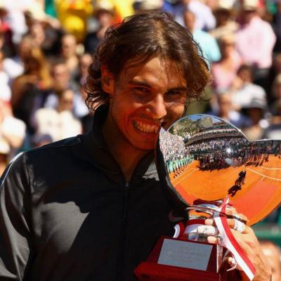 22ABRIL2012 Final del Open de Montecarlo, con triunfo de Nadal sobre Djokovic por 6-3 y 6-1. Foto: Tenis Web.