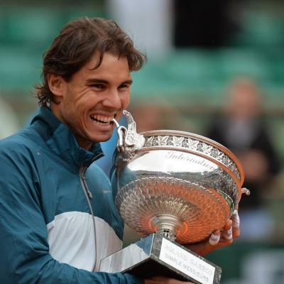 09JUNIO2013 Rafa Nadal logra su octavo Roland Garros consecutivo. Foto: Roland Garros.