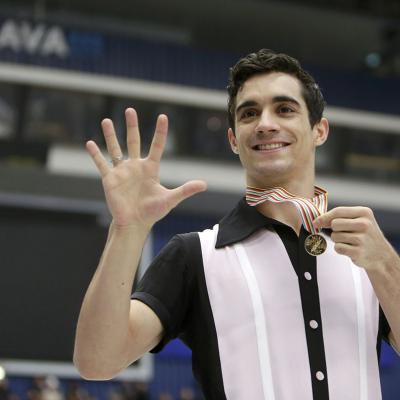 28ENERO2017 Javier Fernández campeón europeo por quinta vez. Foto: Agencia.
