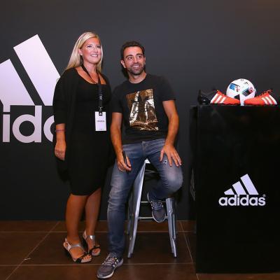 23NOVIEMBRE2015 Xavi Hernández con Adidas en Dubái. Foto: Image.