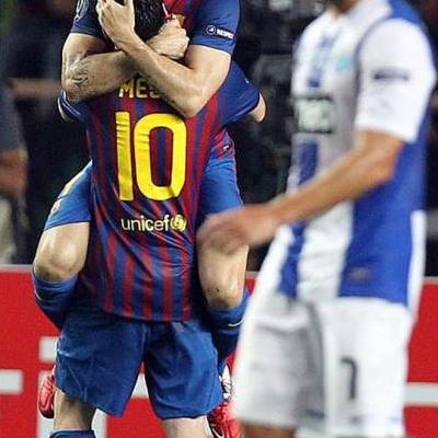 26AGOSTO2011 El Barça campeón de la UEFA frente al Oporto por 2-0. Foto: Agencias.