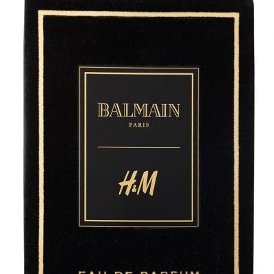30NOVIEMBRE2015 Nueva fragancia Balmain x H&M.