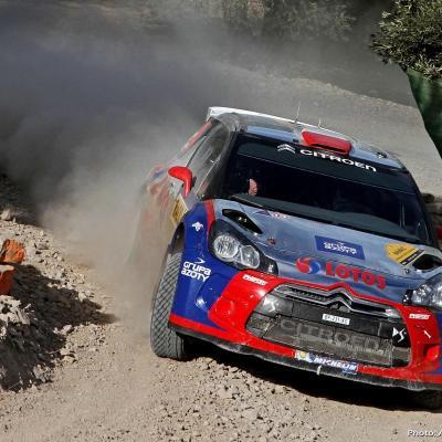 27OCTUBRE2013 Ogier campeón del Rally RACC y del Mundial.  Kubica.