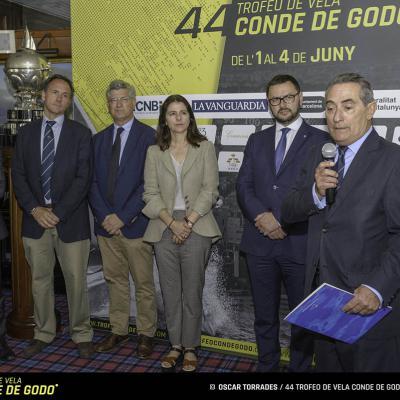 24MAYO2017 El 44 Trofeo de vela Conde de Godó celebra su condición de regata decana.