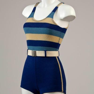 15JUNIO2012 Nueva exposición de trajes de baño en el Museo Balenciaga. Foto: Facebook.