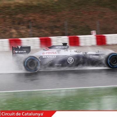 28AL03MA2013 Formula One Test Days en el Circuito de Catalunya. Bottas. Foto: Circuito de Montmeló.
