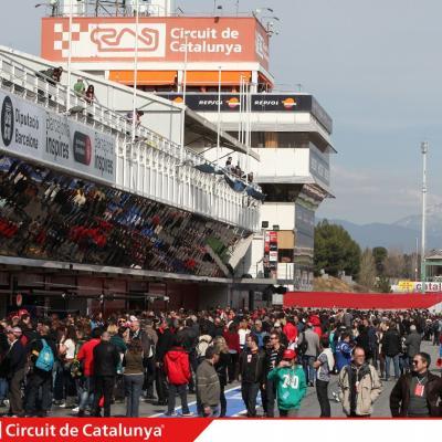 28AL03MA2013 Formula One Test Days en el Circuito de Catalunya. Foto: Circuito de Montmeló.