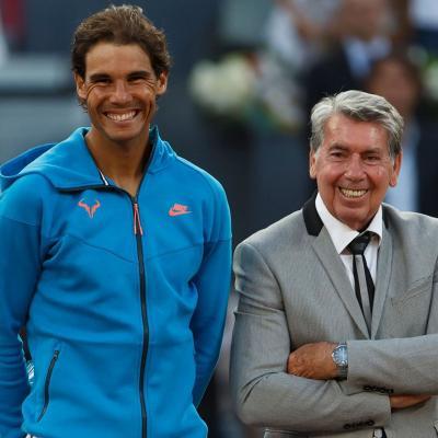 10MAYO2015 Rafa Nadal finalista en el Mutua Madrid Open. Foto: Facebook.