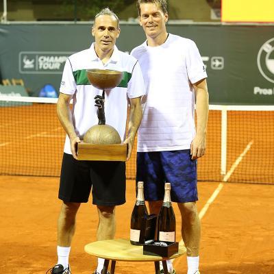 11OCTUBRE2015 Àlex Corretja, ganador de la primera Legends Cup de Mallorca. Foto: Organización .
