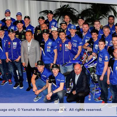 18ENERO2016 Presentación del Equipo Movistar Yamaha de MotoGP. Foto: Organización.