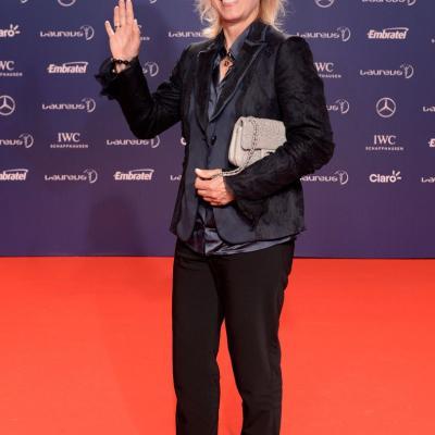 11MARZO2013 Premios Laureus al Deporte, en Río de Janeiro. Martina Navratilova. Foto: Getty Images