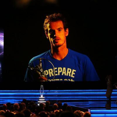 11MARZO2013 Premios Laureus al Deporte, en Río de Janeiro. Andy Murray. Foto: Getty Images