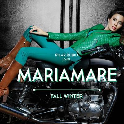 14ENERO2014 Pilar Rubio imagen de la firma española Mariamare.