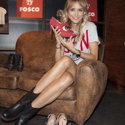 12SEPTIEMBRE2012 Alba Carillo, imagen de la firma Fosco, de complementos y calzado. Foto: Piazza Comunicación.