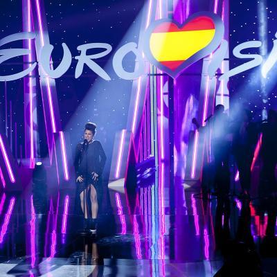 01FEBRERO2016 Barei, representante de RTVE en el Festival de Eurovisión 2016. Foto: TVE.