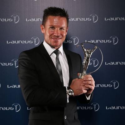 11MARZO2013 Premios Laureus al Deporte, en Río de Janeiro. Baumgatner. Foto: Getty Images