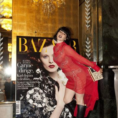 05SEPTIEMBRE2013 Lanzamiento de la colección Paris Show Collection by H&M. Bimba Bosé