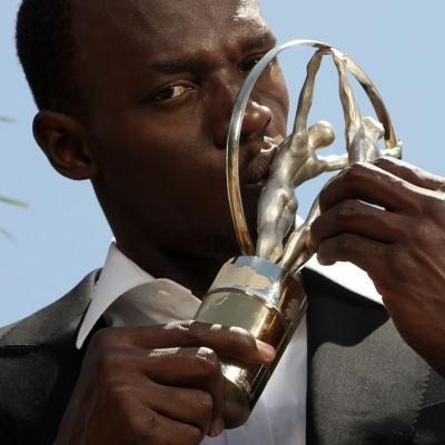 11MARZO2013 Premios Laureus al Deporte, en Río de Janeiro. Usain Bolt. Foto: Getty Images