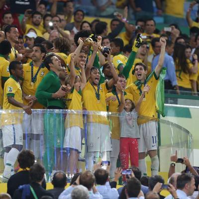 30JUNIO2013 Copa Confederaciones Brasil-España 3-0. Foto: Getty Image.