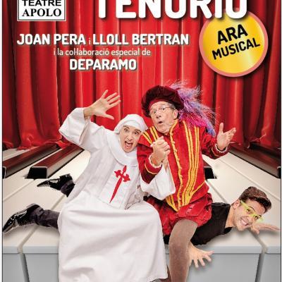 12DICIEMBRE2013 Don Juan Tenorio, ara musical con Joan Pera, Lloll Bertran i Deparamo.  Cartel.Foto: Focus.