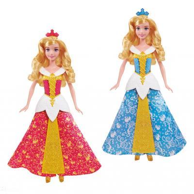 20OCTUBRE2014 Novedades de Mattel. Bella Durmiente Vestido Mágico.