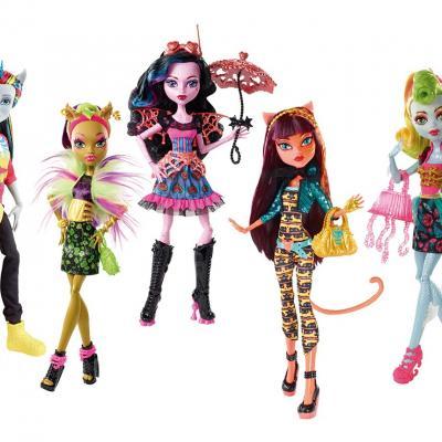 20OCTUBRE2014 Novedades de Mattel. Muñecas Monstruo-Fusis.